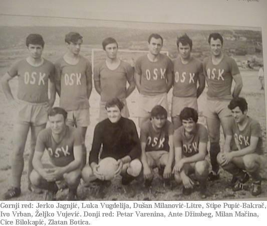Jedna od prvih ekipa NK OSK